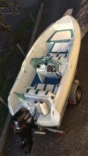 Motorboot, Quicksilver, Konsolenboot,