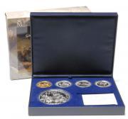 Münzen Silber Set