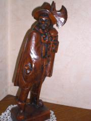 Nachtwächter Wachsfigur Höhe 40 cm