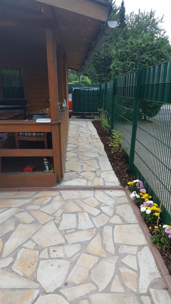 Natursteine polygonalplatten in pappenheim sonstiges f r den garten balkon terrasse kaufen - Natursteine fur den garten ...
