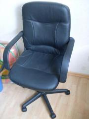 Neuer Bürostuhl, schwarzes