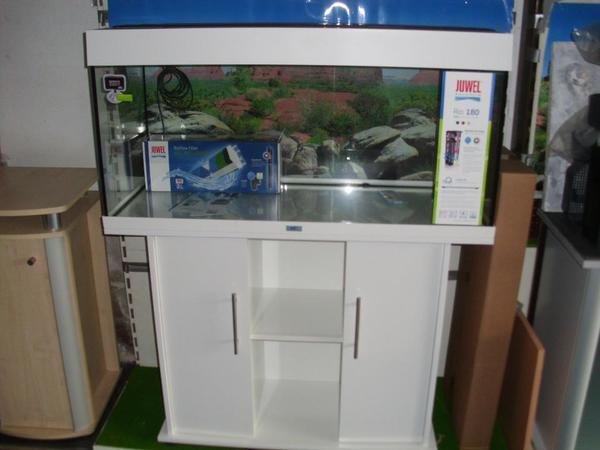 neues juwel aquarium rio 180 kombi komplett in wei in. Black Bedroom Furniture Sets. Home Design Ideas