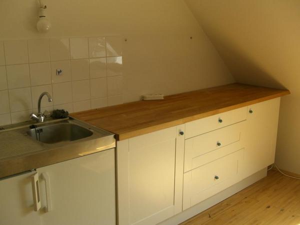 Neuwertige Küchenzeile von Ikea mit Ramsjö-Front in weiß in ... | {Küchenzeilen weiß 70}