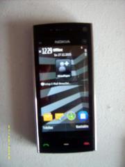 Nokia X6, Navi-