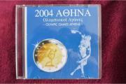 Olympia Euro-Münzsatz Griechenland 2004 - Neu