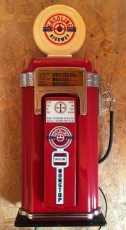 Orig USA-Tankstellen-Telefon US-Zapfsäule mit Beleuchtung