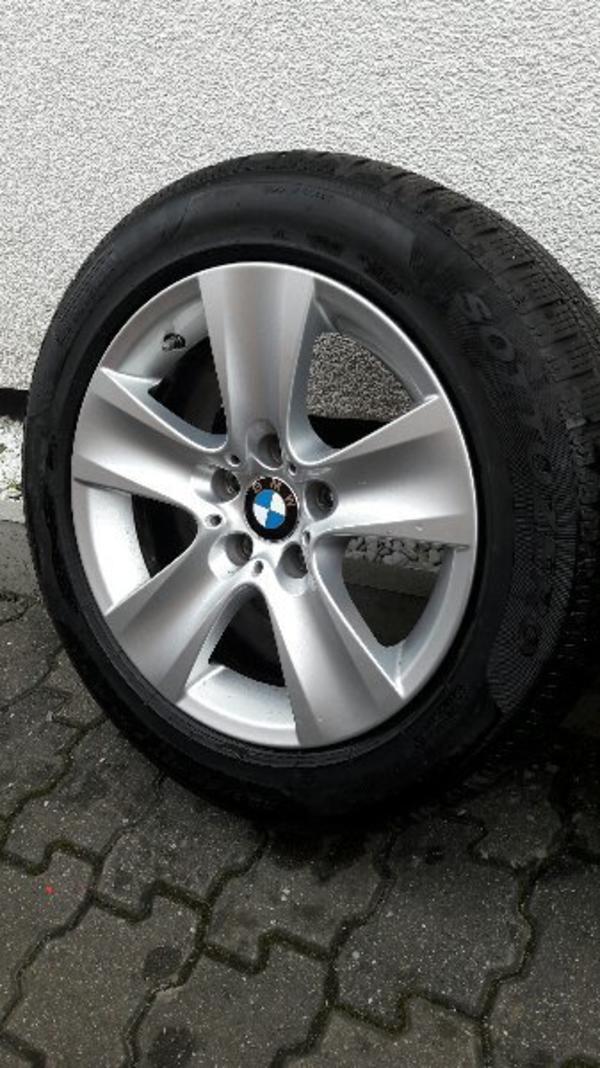 original BMW 5er F10/F11 Winterreifen 6, 1mm mit 17Zoll Alufelgen 225/55R17 RDKS Ventile - Germersheim - Verkauft wird ein original Komplettradsatz von BMW für ein 5-er F10 / F11 oder 6-er F12 / F13Die Felgen haben RDC Ventile (Reifendrucksensoren) und sind bestückt mit sehr guten Markenreifen von Pirelli WinterReifenhersteller:Pirelli Winter - Germersheim