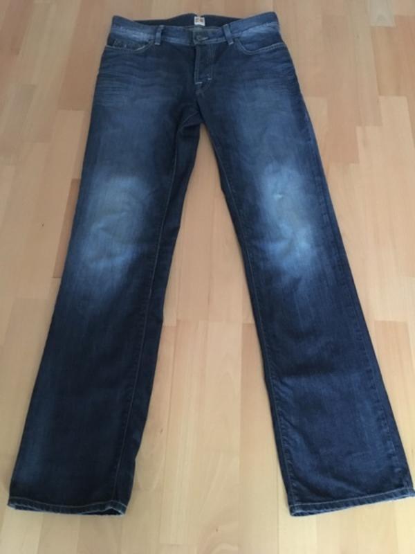 Original Hugo Boss Jeans Gr. 34/36 - Mutterstadt - Herrenjeans nur 1x getragen günstig abzugeben, aus einem tierfreien- nichtraucher- Haushalt. - Mutterstadt