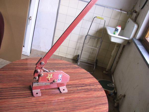 Original Peddinghaus Handhebelschere Stahlschere