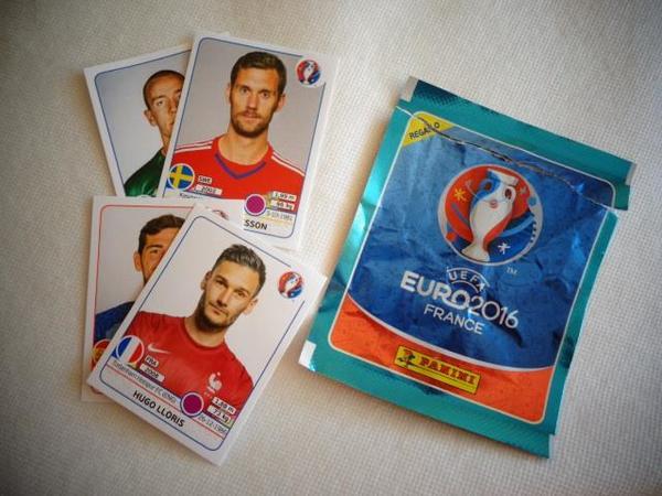 Panini Sticker EURO 2016 France