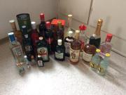 Partyzubehör, Whisky, Rum,