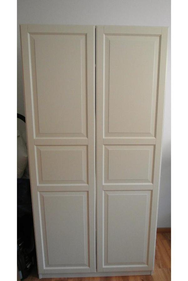 Kleiderschrank Türen Kaufen : Pax korpus kleiderschrank mit birkeland t?ren wei? zu
