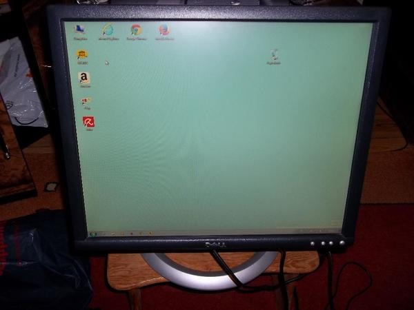 PC-TFT- Flachbild-Farb-Monitor DELL 19 Zoll