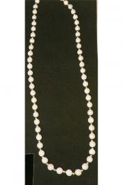 Perlenkette mit Goldkugeln