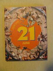 Persönliches Geburtstagsbuch 21.