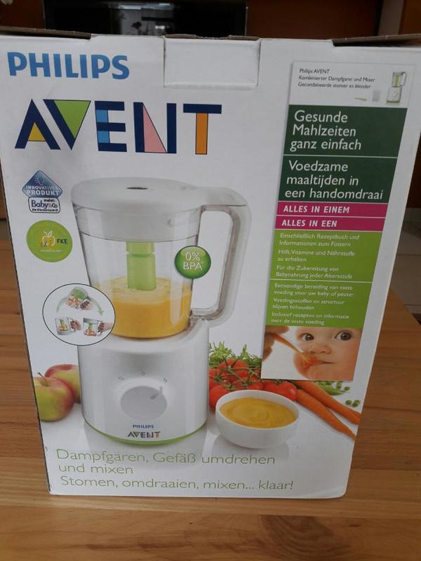 Philips Avent Dampfgarer und Mixer für Babynahrung
