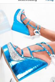 Plateau High Heels /