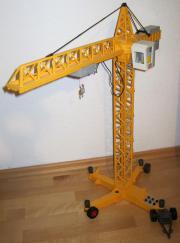 Playmobil elektrischer Kran