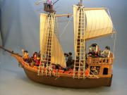 Playmobil Piratenschiff 3750 mit viel