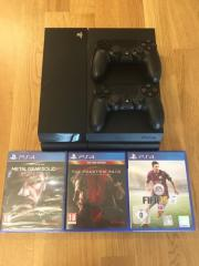 Playstation 4 +2Controller +