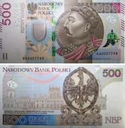 Polnische 500 Zloty