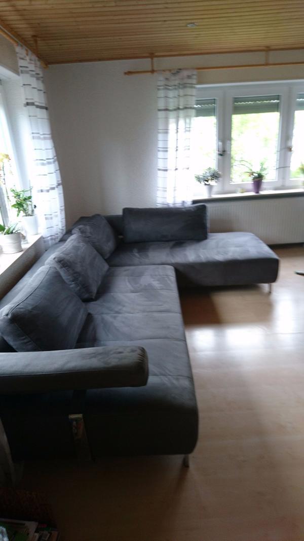 polstergarnitur microfaser in hirschhorn - polster, sessel, couch, Hause deko