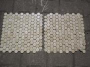 Porzellan-Mosaik-Fliesen in beige