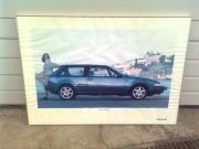 Poster Bild Volvo 480 aus