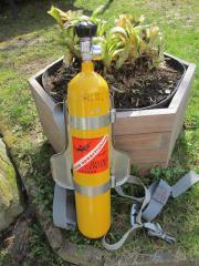 Presslufttauchflasche