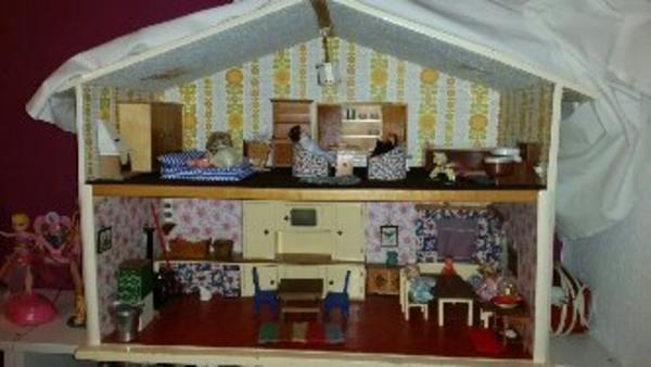 Puppen haus aus holz handarbeit in nürnberg kaufen und verkaufen