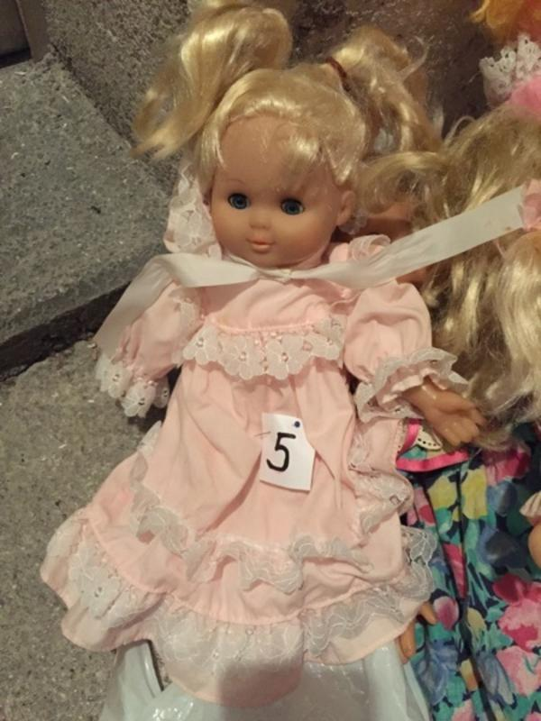 Puppen mit Schlafaugen etc