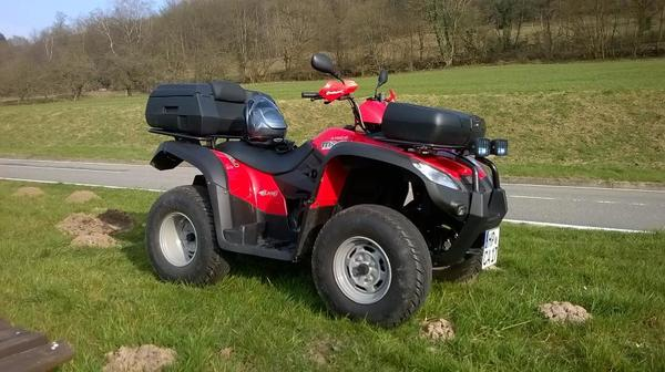 quad kymco mxu 500 2x4 in hirschhorn quads atv all. Black Bedroom Furniture Sets. Home Design Ideas