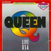 QUEEN, LIVE USA