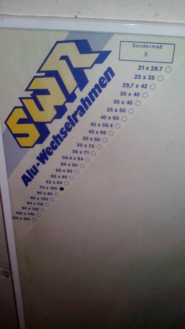 Rahmen Bilderrahmen Alu / Wechselrahmen in München - Sonstige ...
