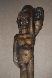 Rarität orirg afr Skulptur Statue