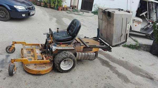 rasenm her traktor walker in baar gartenger te. Black Bedroom Furniture Sets. Home Design Ideas