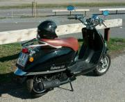 Retro Motorroller 125