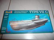 Revell U-Boot Typ VII C
