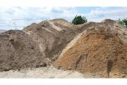 Sand, Auffüllmaterial