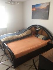 schlafzimmer komplett, schwarz/braun hochglanz in olching, Hause deko