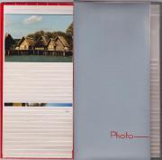 Schmales Foto-Album mit Einsteck-Taschen