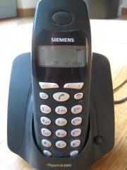 Schnurloses Telefon Siemens A 200 -