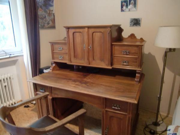 Schreibtisch designermöbel  Schöner alter Schreibtisch/Sekretär in Mühlacker - Designermöbel ...