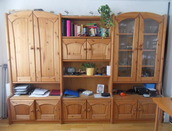Schner Wohnzimmerschrank 350cm Fichte Teilmassiv Gebraucht Kaufen 76887 Bad Bergzabern