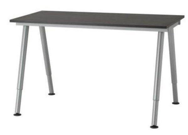 Ikea schreibtisch schwarz  Schreibtisch Glas Galant Ikea in Oberderdingen - Büromöbel kaufen ...