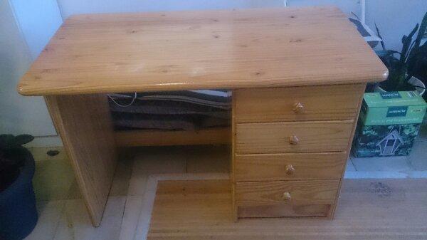 kinderschreibtisch holz gebraucht kaufen nur 2 st bis 75 g nstiger. Black Bedroom Furniture Sets. Home Design Ideas