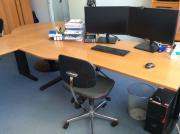 Schreibtisch L-Form