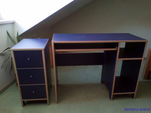 schreibtisch passendem neu und gebraucht kaufen bei. Black Bedroom Furniture Sets. Home Design Ideas