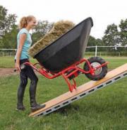 Schubkarre Transportkarre elektrisch angetrieben kippbar