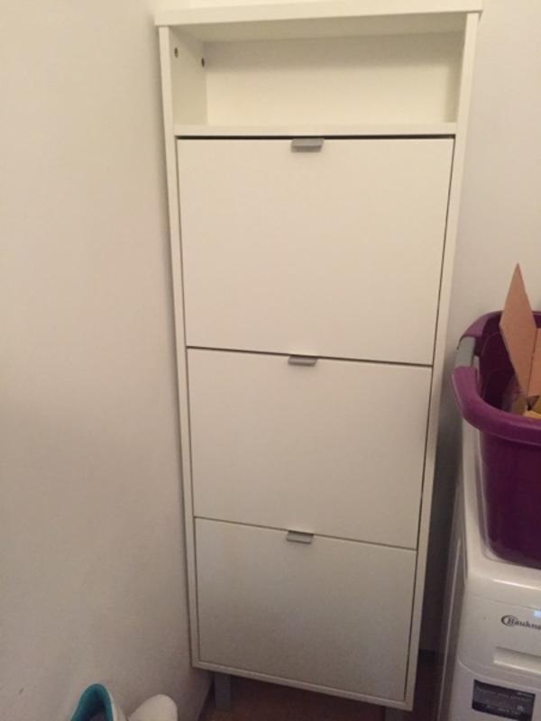 schuhschrank wei gebraucht kaufen nur 4 st bis 65. Black Bedroom Furniture Sets. Home Design Ideas